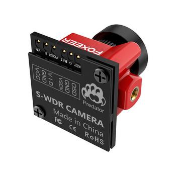 Foxeer Micro Predator 4 Super WDR 4ms FPV Racing Camera 1.8mm Lens - Solder Pad