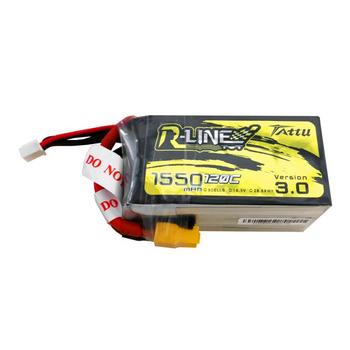Tattu R-Line 3.0 1550mAh 18.5V 120C 5S1P Lipo Battery XT60 Plug