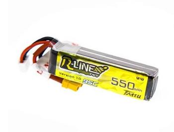Tattu R-Line 550mAh 7.4V 95C 2S1P Lipo Battery Pack with XT30 Plug
