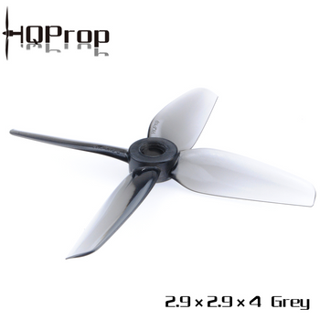 HQ Durable Prop 2.9X2.9X4 Grey (2CW+2CCW)-Poly Carbonate