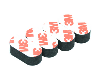 3M Foam Landing Pad  BLACK 4pcs