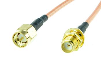10cm SMA Plug to SMA Jack Extention Cable