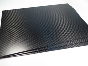4mm 3K Twill premium Carbon Fiber sheet 200x300mm
