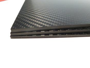 4mm 3K Twill premium Carbon Fiber sheet 200x300mm