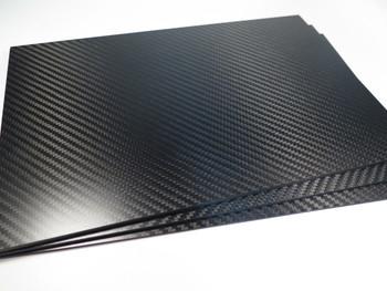2mm 3K Twill premium Carbon Fiber sheet 200x300mm