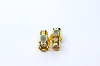 RP-SMA Plug to SMA Antenna Adapter 2-PACK