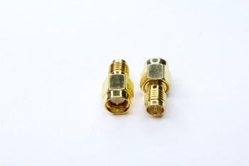 SMA Plug to RP-SMA Antenna Adapter 2-PACK
