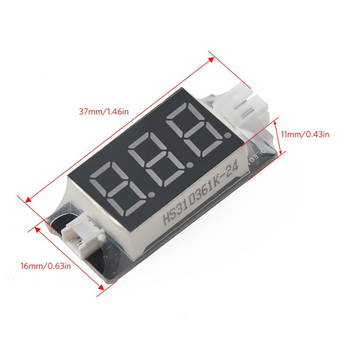 Battery Voltage Checker LED Indicator Micro JST 1.25 and JST PH 2.0