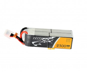 Tattu 2300mAh 45C 4S1P Lipo Battery Pack with XT60 Plug