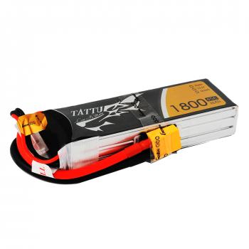 Tattu 1800mAh 45C 3S1P Lipo Battery Pack with XT60 Plug