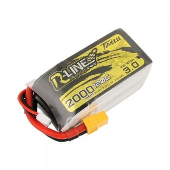 Tattu R-Line 3.0 2000mAh 14.8V 120C 4S Lipo Battery - XT60