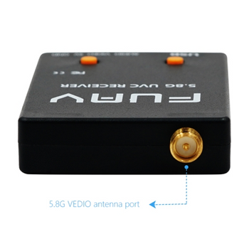 Skydroid UVC Single Receiver OTG 5.8G 150CH FPV Receiver Video W/Audio For Android