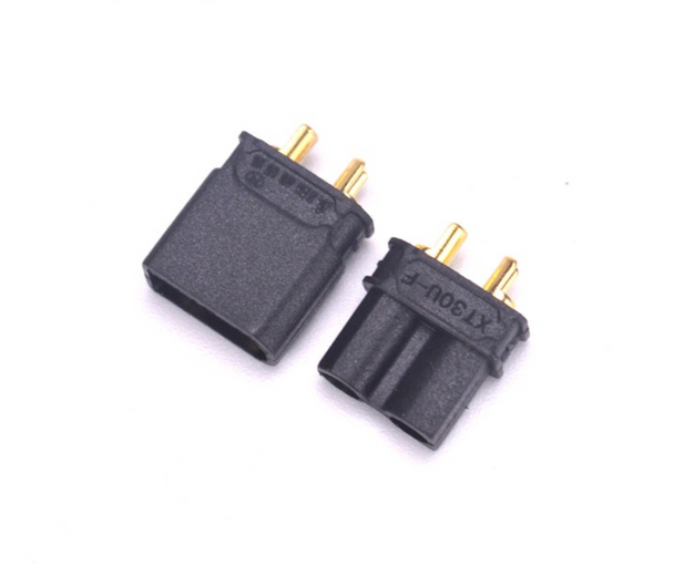 Amass XT-30U Male&Female Black Connector - 2 Pairs