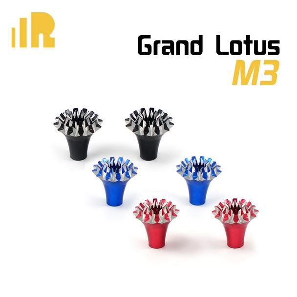 FrSky M3 CNC Grand Lotus Aluminum Transmitter Gimbal Stick Ends RED