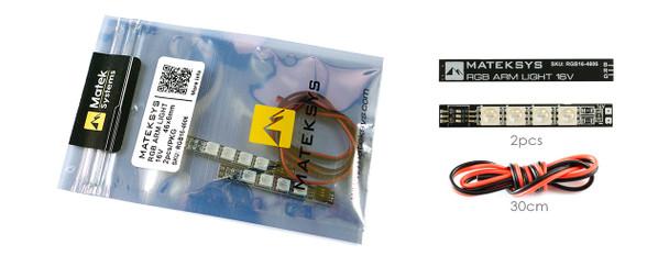 RGB ARM LIGHT 16V, 46*6mm 2PCS