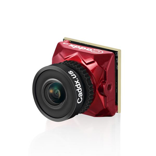 Caddx Ratel Micro FPV Camera 1.66mm 180° FOV - RED