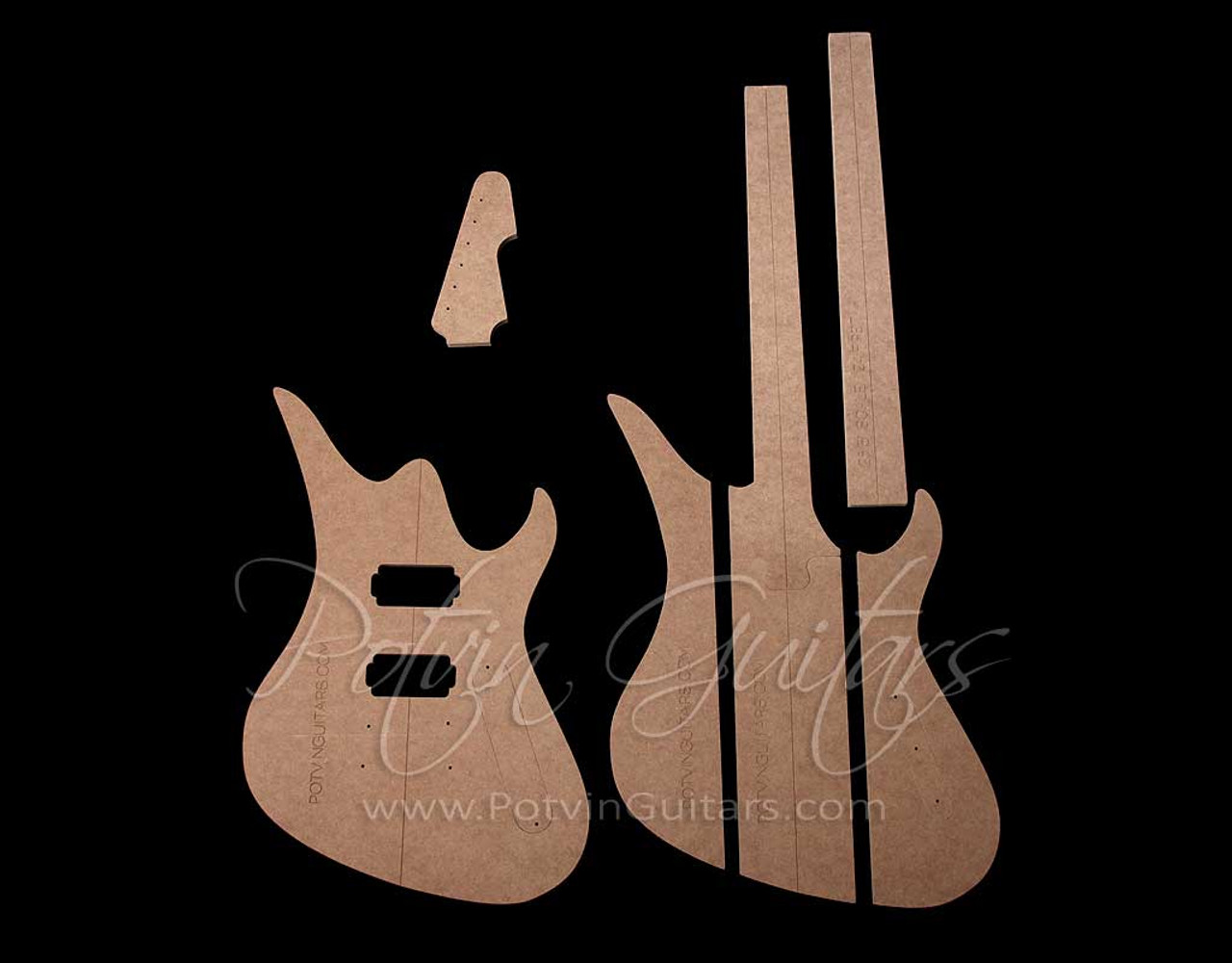 AV Neck-Through Template Set