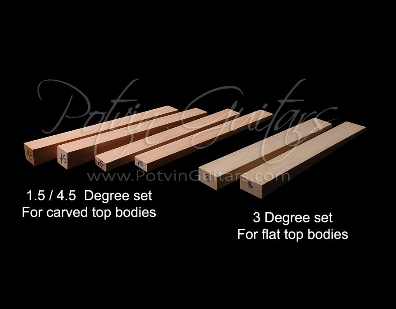 Neck Angle Wedge Kit Available in Two Styles