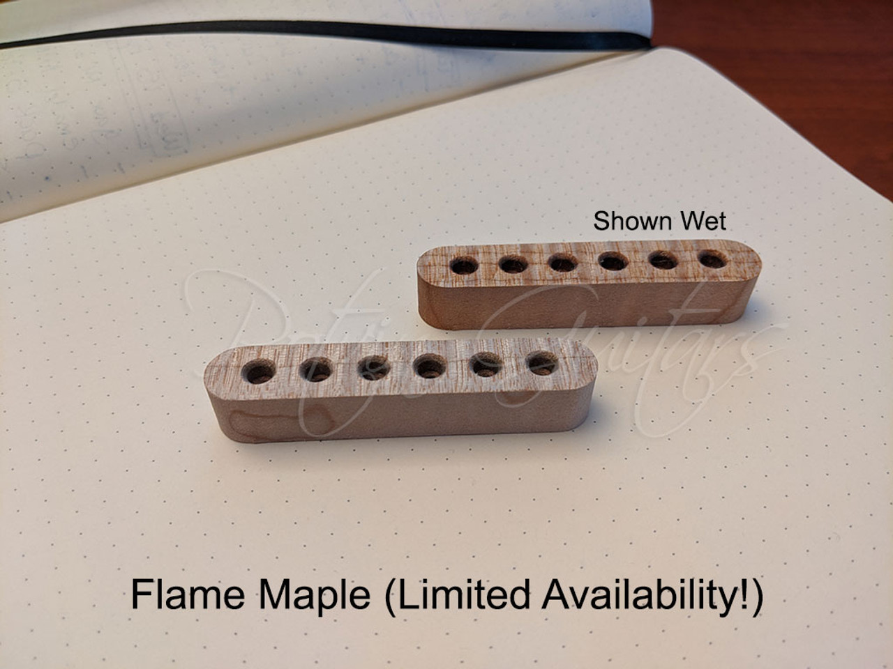 String Retainer Block (Flame Maple - Limited Availability!)