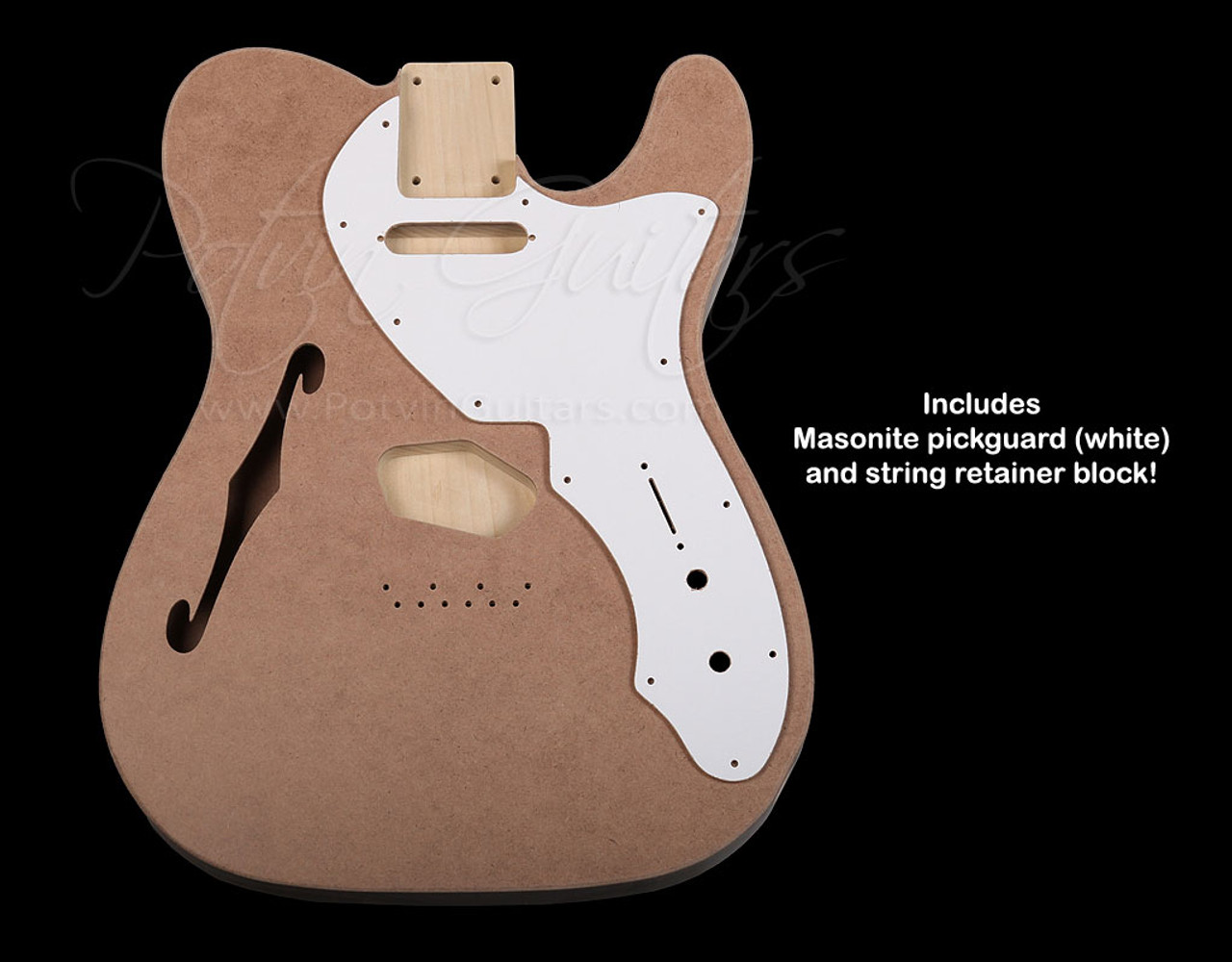 Danelectro™ inspired T-Style '69 Thinline Body