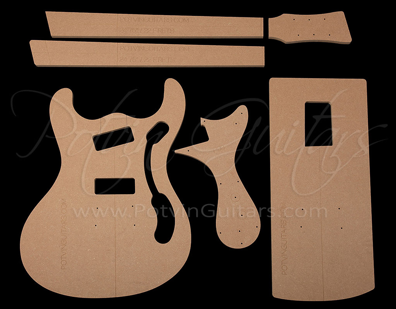 Mosrite Template Set