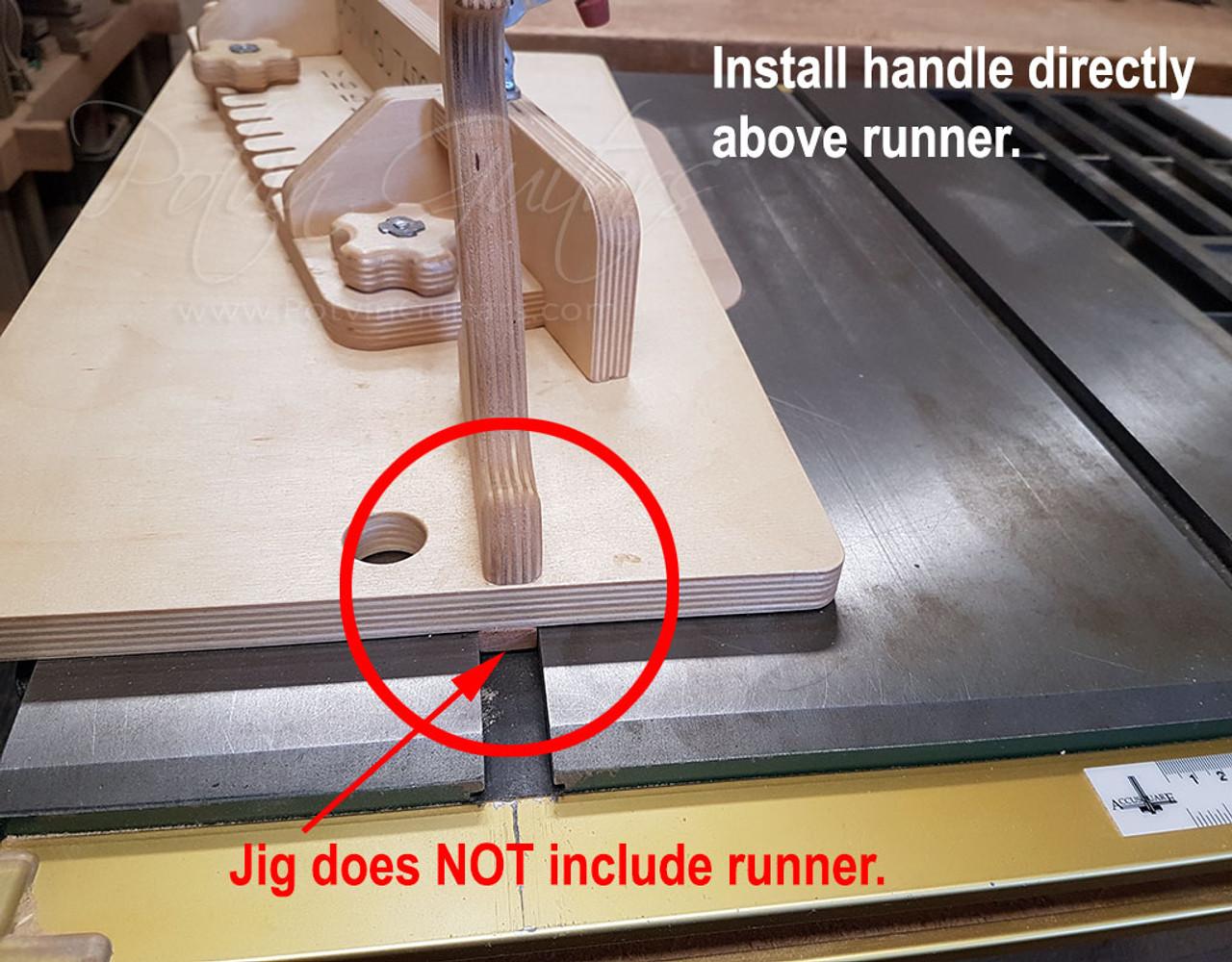 Headstock Angle Jig