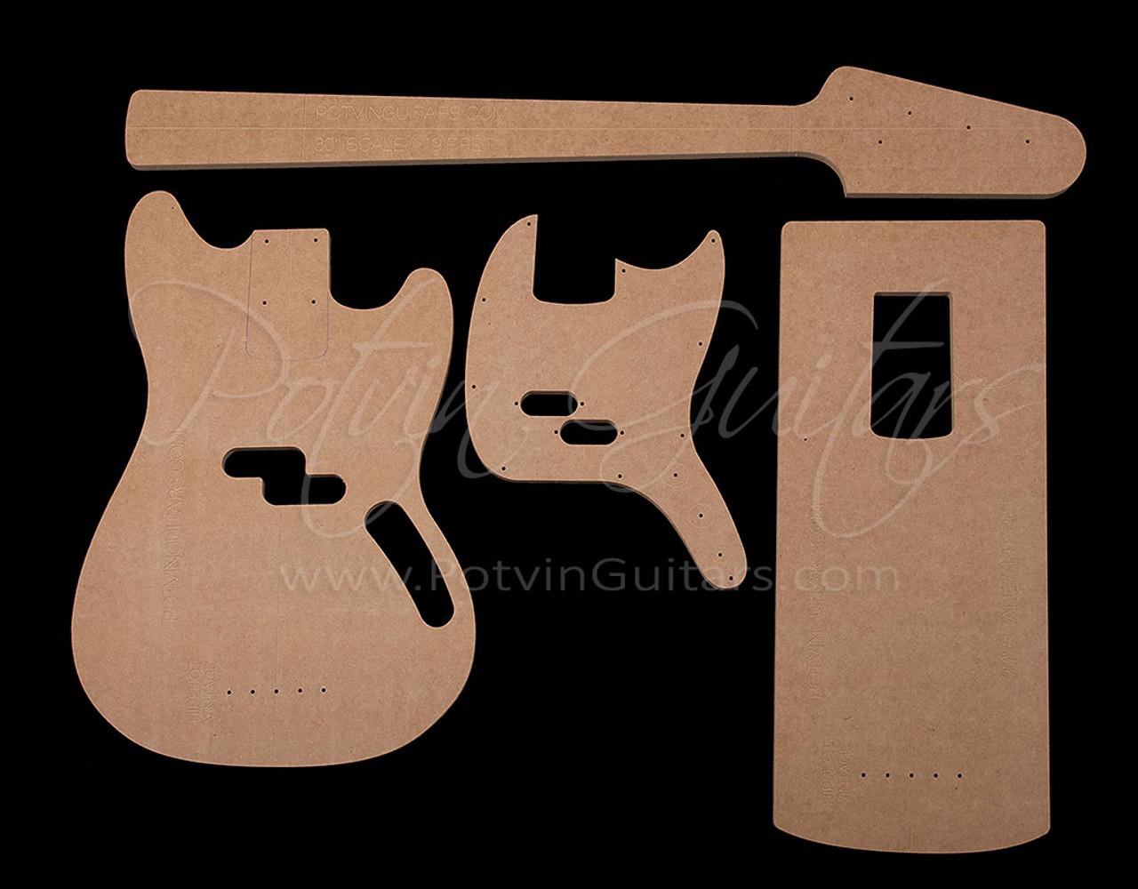 Mustang© Bass Template Set