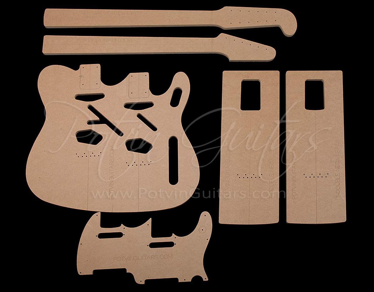 T-Style Double-neck Template Set