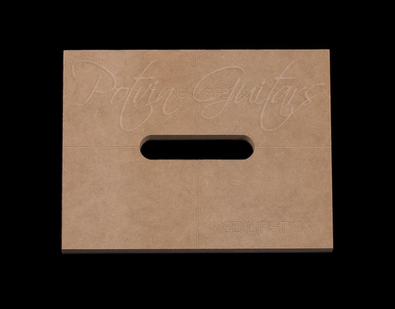 Seymour Duncan Danelectro Lipstick Pickup Template