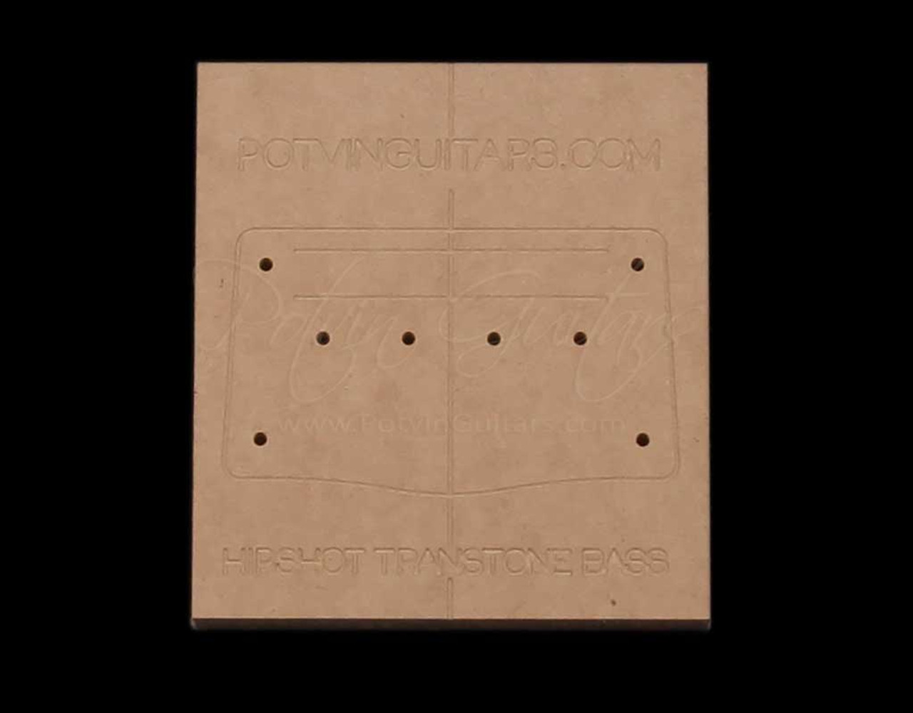 Hipshot Transtone 4 String Bass Bridge Template