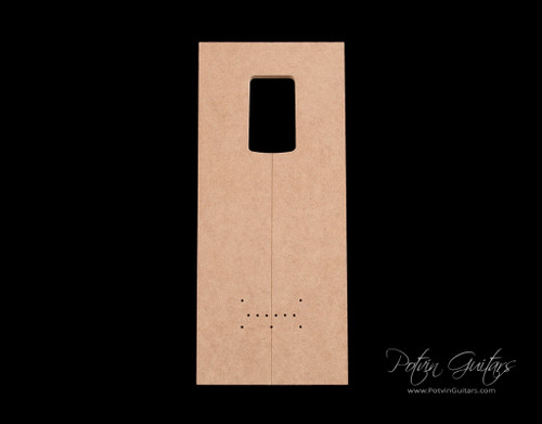 Mashup neck pocket template (with S-Style pocket)