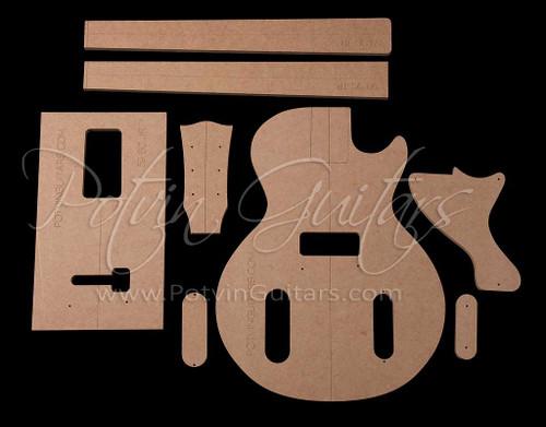 LP Jr Singlecut Template Set