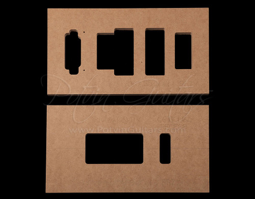Recessed Floyd Rose 7 String Templates