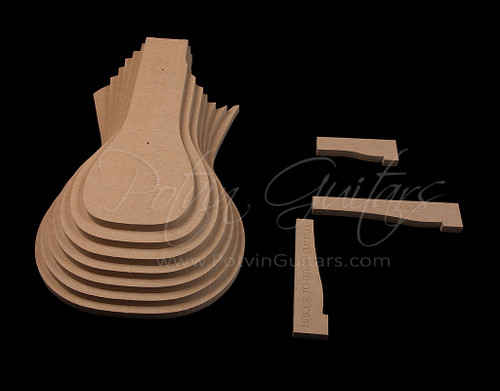 LP Top Carve Template Set