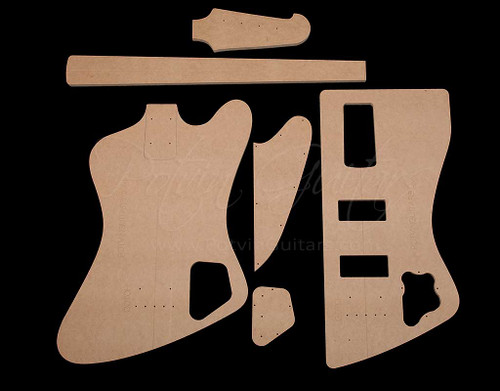T-Bird Bass Bolt-on Template Set
