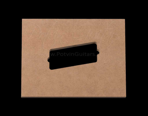 Bare Knuckle 8 String Humbucker 10 Degree Angle Pickup Template