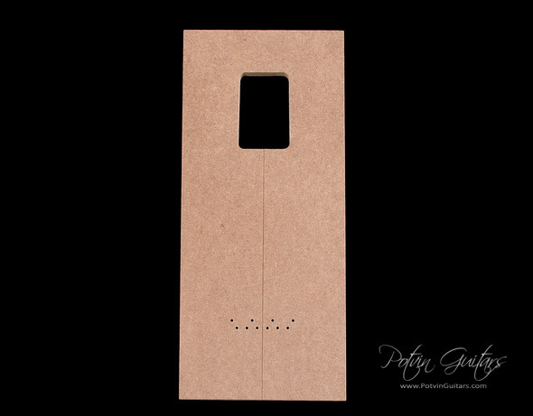 Mashup neck pocket template (with T-Style pocket)