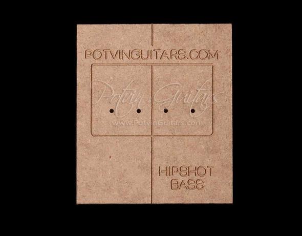 Hipshot 4 String Bass Bridge Drilling Guide