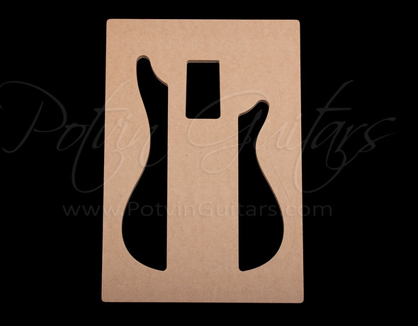 P-Style Bass Chambering Template