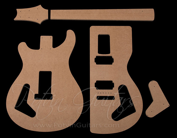 PRS-Style Bolt-on Template Set