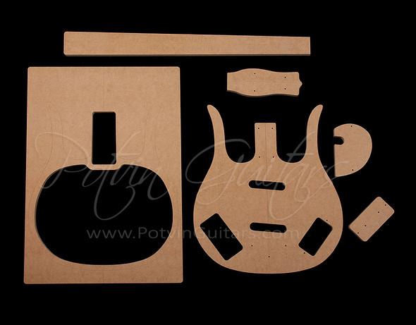 Long Horn Bass Template Set