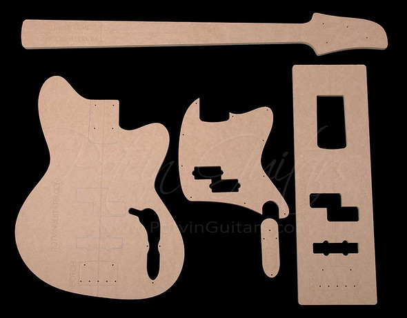Talman Style Bass Template Set