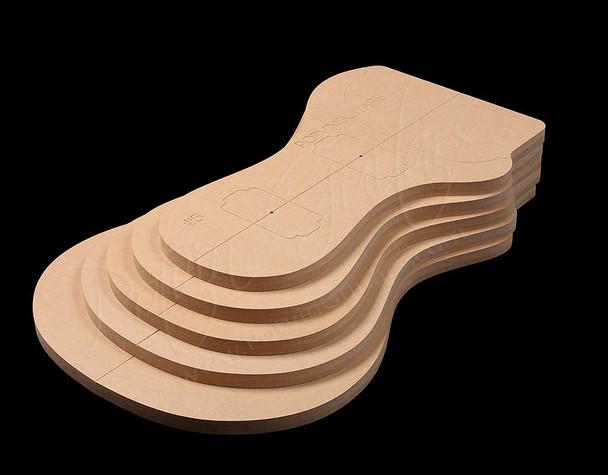 PRS Top Carve Template Set