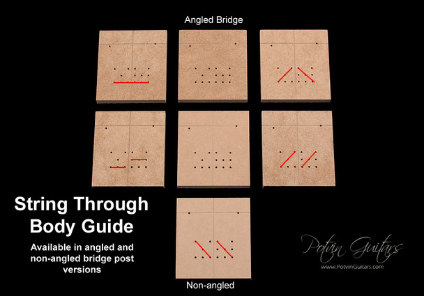 String-Through Body Drill Guide