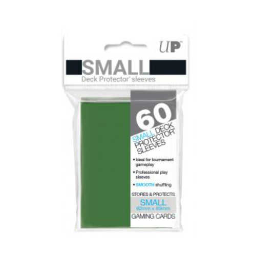 Ultra Pro Deck Protectors Solid Green (60ct) - Small