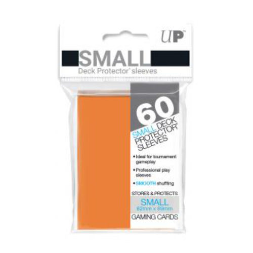 Ultra Pro Deck Protectors Solid Orange (60ct) - Small