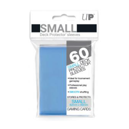 Ultra Pro Deck Protectors Solid Light Blue (60ct) - Small
