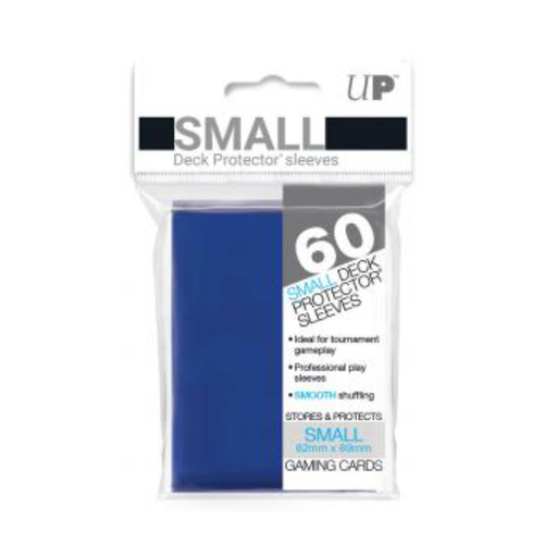 Ultra Pro Deck Protectors Solid Blue (60ct) - Small