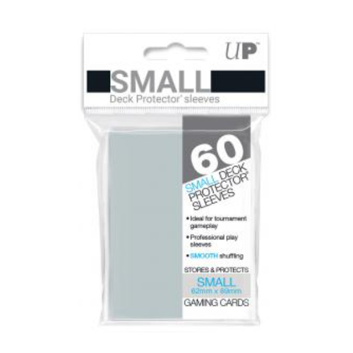 Ultra Pro Deck Protectors Solid Clear (60ct) - Small