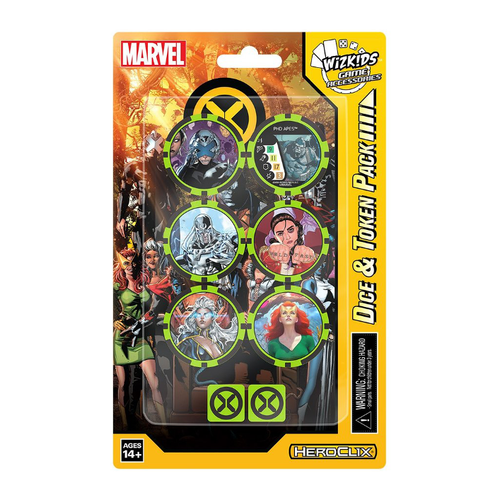(Pre-Order) HeroClix X-Men House of X Dice and Token Pack